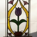 Art Nouveau Tulip - Stained Glass - Lee Klade