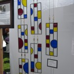 Circles and Squares - Stained Glass - Prairie Style - Lee Klade