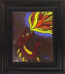 Fire Breather - Stained Glass - Lee Klade