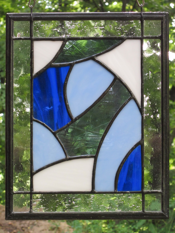 Four Seasons:  Winter - Stained Glass - Lee Klade