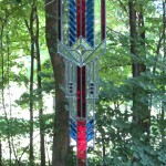 Guardian I - Stained Glass - Prairie Style - Lee Klade