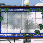Ivy on Glass - Stained Glass - Lee Klade