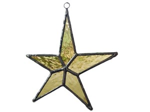 Star (gold) - Stained Glass - Lee Kade
