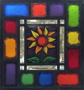 Sun Flower - Stained Glass - Lee Klade