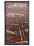 The Creek (on float glass) - Stained Glass - Lee Klade