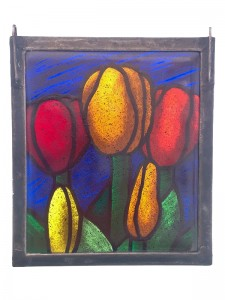 Tulips (Fused) - Stained Glass - Lee Klade