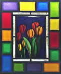 Tulips - Stained Glass - Lee Klade