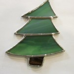 Christmas Tree Ornament - Stained Glass - Lee Klade