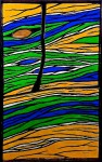 Hot Geo - Fissure - Stained Glass - Lee Klade