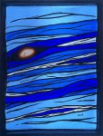 Hot Geo - The Blues - Stained Glass _ Lee Klade