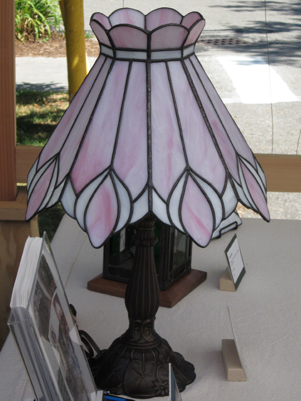 Pink Lily Lamp Stained Gl Lee Klade