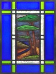 The Creek (framed) - Stained Glass - Lee Klade