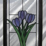 Tulip Trio - Stained Glass - Lee Klade